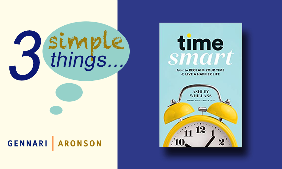 3 Simple Things with Ashley Whillans Post Image