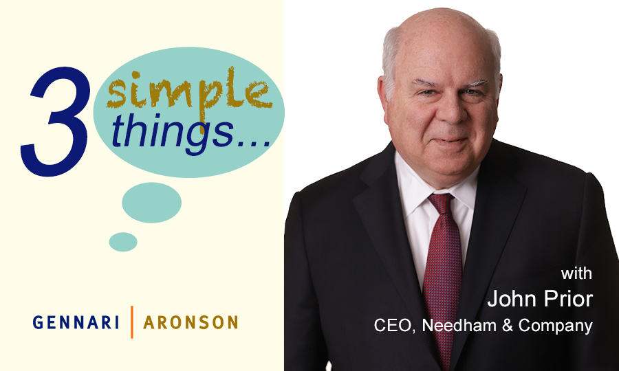 3 Simple Things with John Prior Post Image