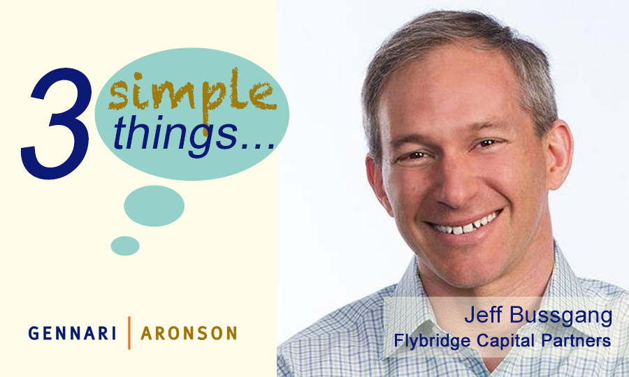 3 Simple Things with Jeff Bussgang Post Image