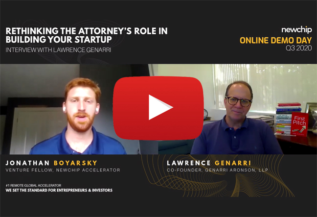 Rethinking the Attorney's Role in Building Your Startup Post Image