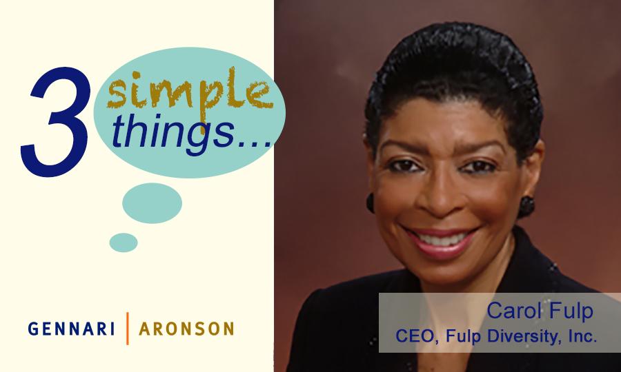3 Simple Thingswith Carol Fulp Post Image