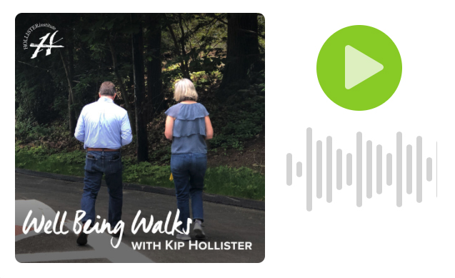 Well Being Walks with Kip Hollister Post Image