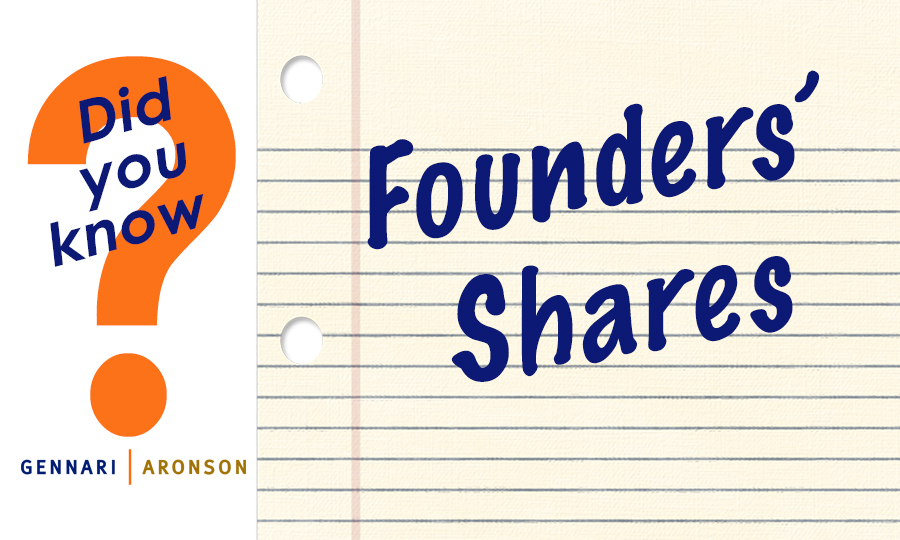 Founders' Shares Post Image